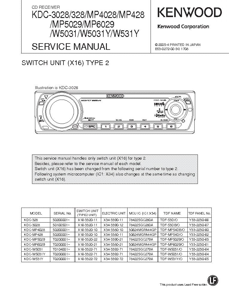 kenwood car stereo installation manual