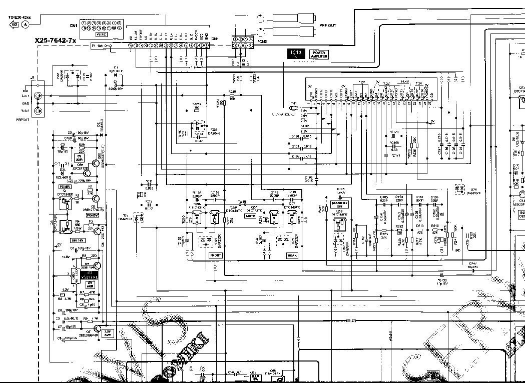 Kenwood Kdc W237ay Gy W3037ay W311ay W3537ay W4037 Service Wiring Diagram 7070r
