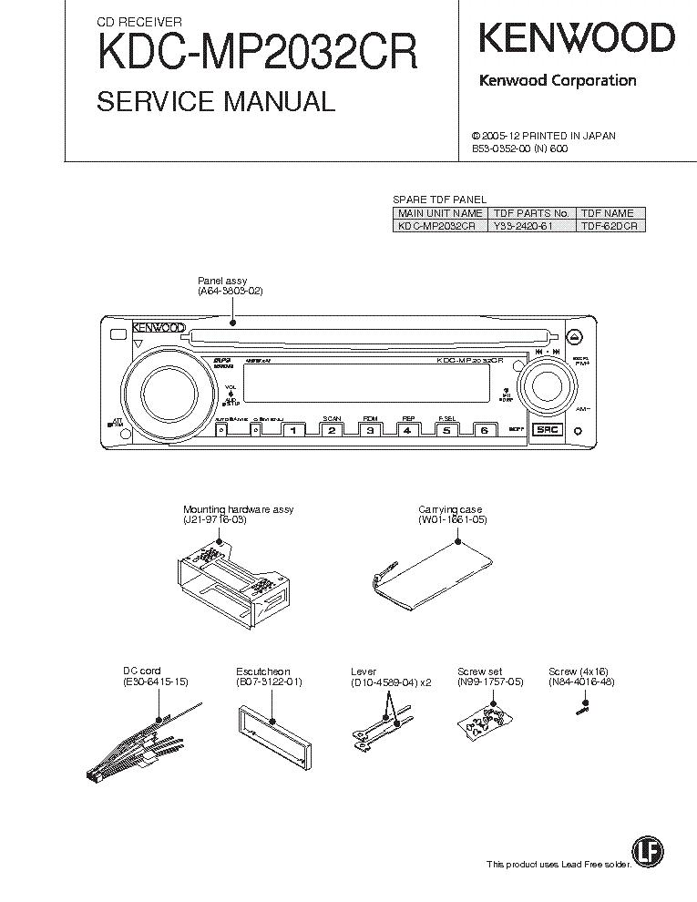 Kdc mp228 manual