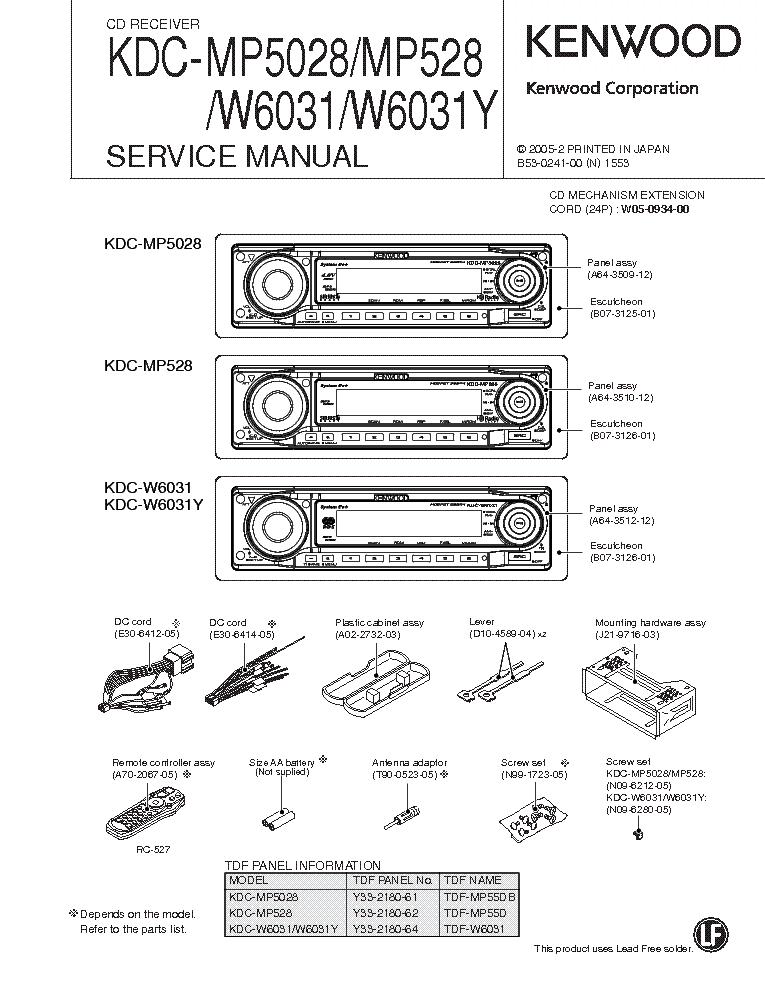 Инструкция По Эксплуатации Автомагнитолы Kenwood Kdc-W3041