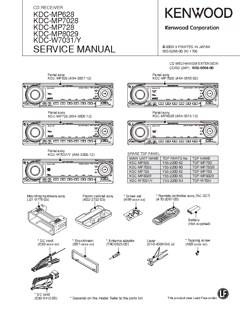 wiring diagram for kenwood kdc 138 gallery