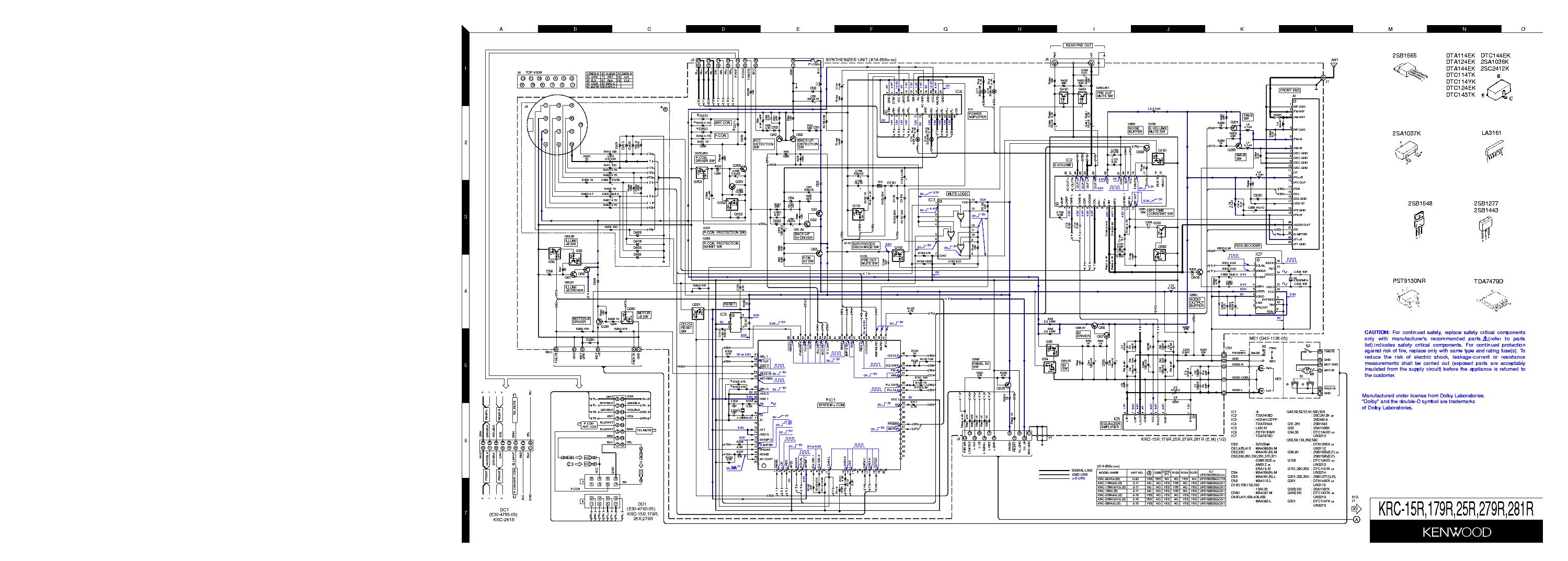 Kenwood Krc Wiring Harness Diagram 2004 Auto Electrical Komatsu Fg Forklift 30011 Honda Xr100r Crf100f
