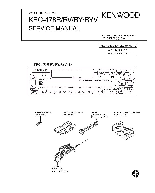 kenwood krc 377r инструкция
