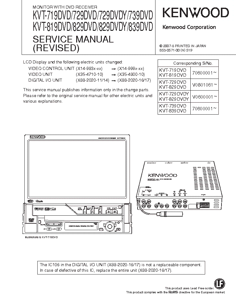 Kenwood Dnx8120 Wiring Diagram from elektrotanya.com