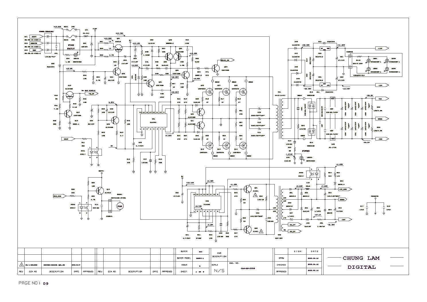 kicker sx1250 1 stereo car amplifier sch service manual