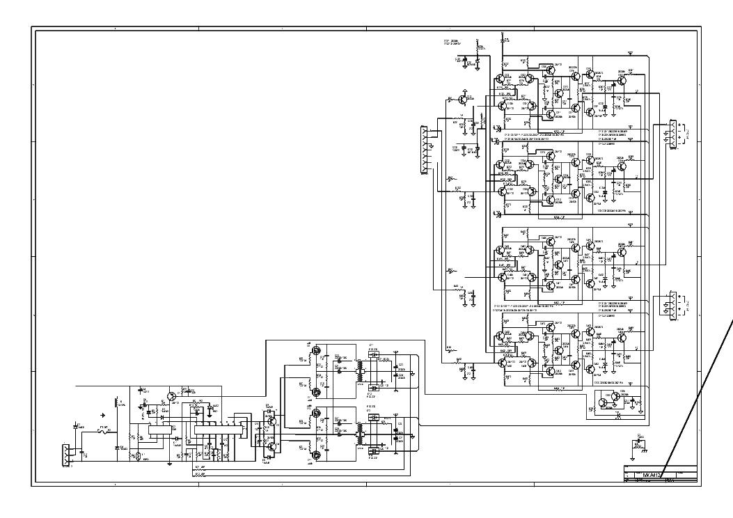 Lanzar Mxa412 Car Amplifier Sch Service Manual Download Schematics