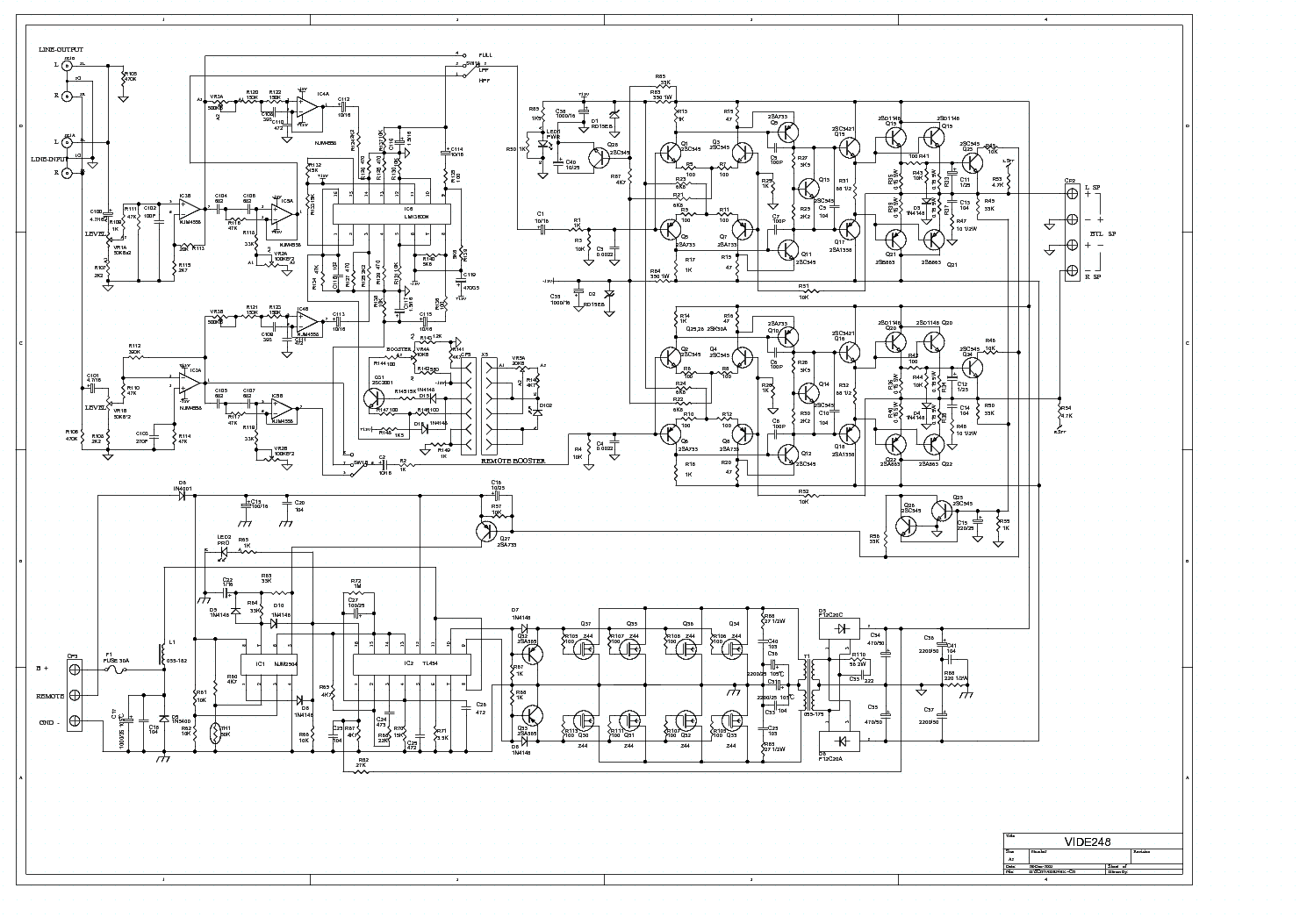 lanzar_vibe248_car_amplifier_sch.pdf_1 lanzar wiring diagram lanzar maxp124d wiring diagram \u2022 free wiring vibe subwoofer wiring diagram at n-0.co
