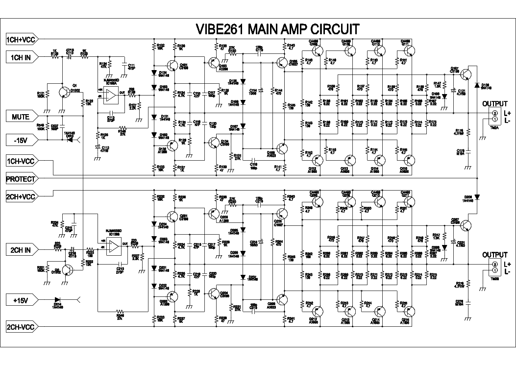 LANZAR VIBE261 CAR AMPLIFIER SCH Service Manual download, schematics on car radio, car audio, car starter, car upholstery, car roof racks, car detailing, car stereos, car inspection, car bed, car speakers, car decals, car tweeters, car paint, car interior, car equalizers, car subwoofers, car accessories, car alarms, car subs, car battery,