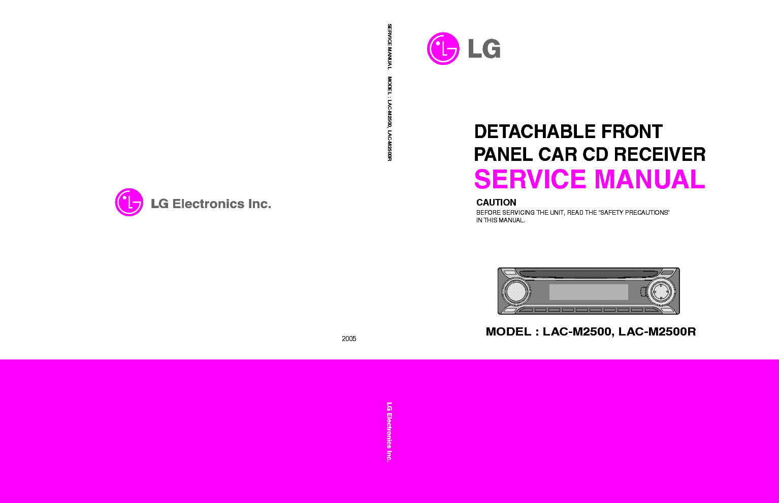 Lg Lac M2500 R Service Manual Download Schematics Eeprom