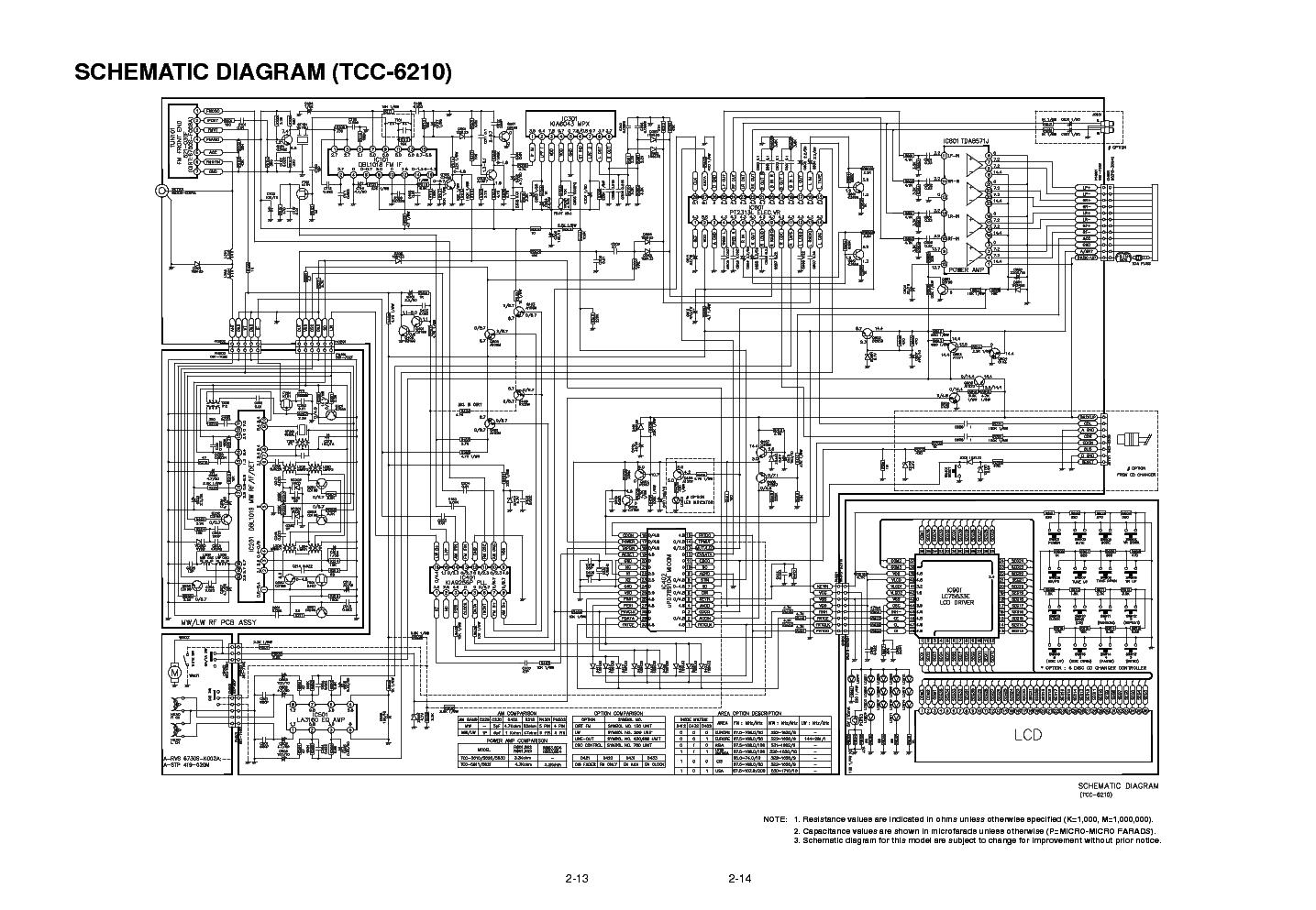 АВТОМАГНИТОЛЛА LG TCC-5650 СХЕМА СКАЧАТЬ БЕСПЛАТНО