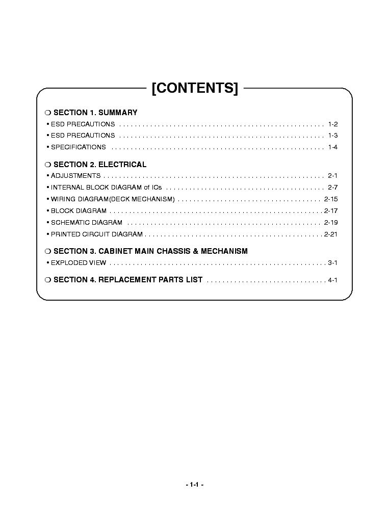 схемы service manuals