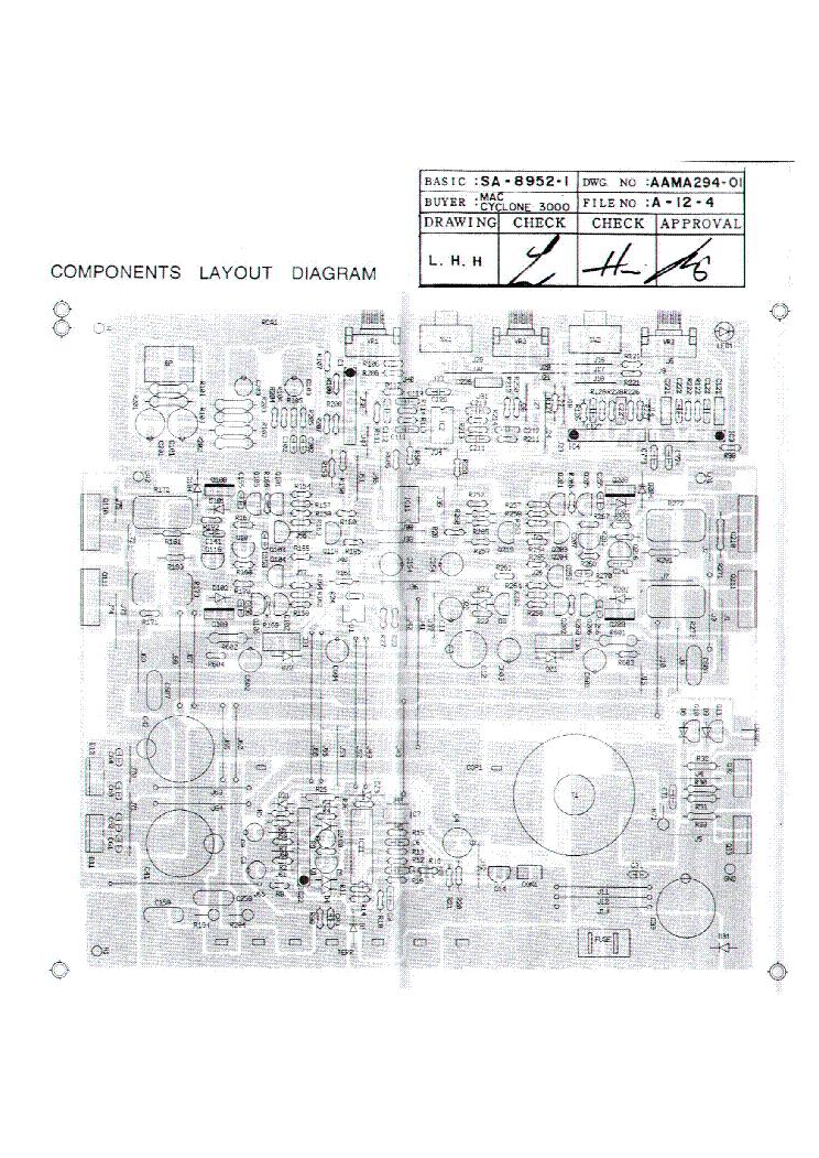 MACAUDIO CYCLONE-3000 SCH Service Manual Download