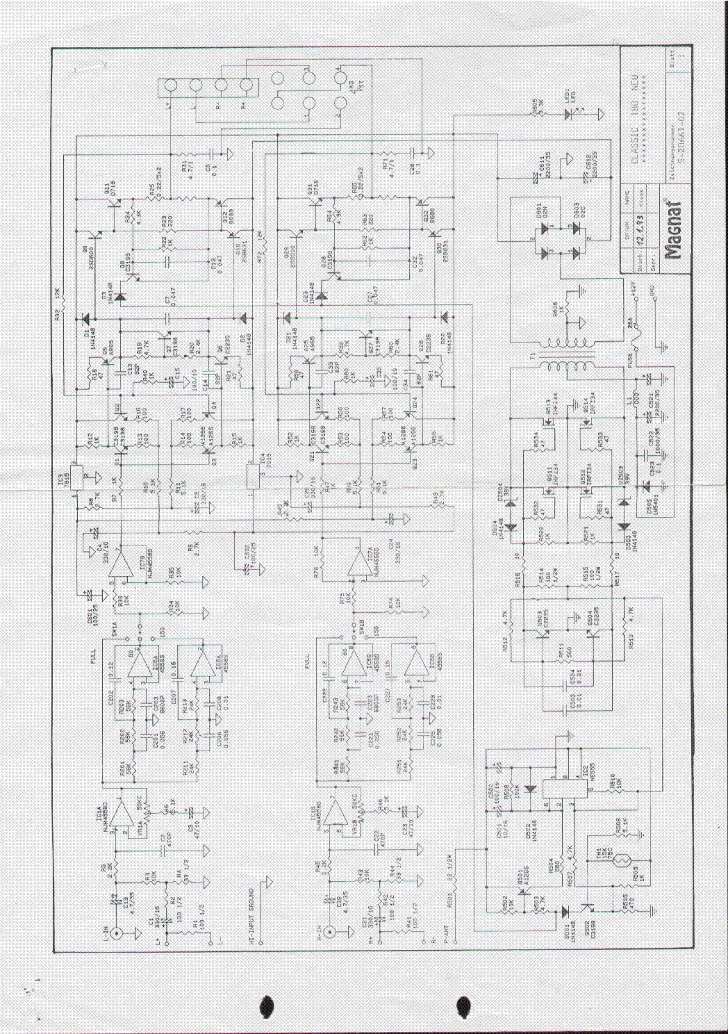 magnat classic 180 service manual download  schematics
