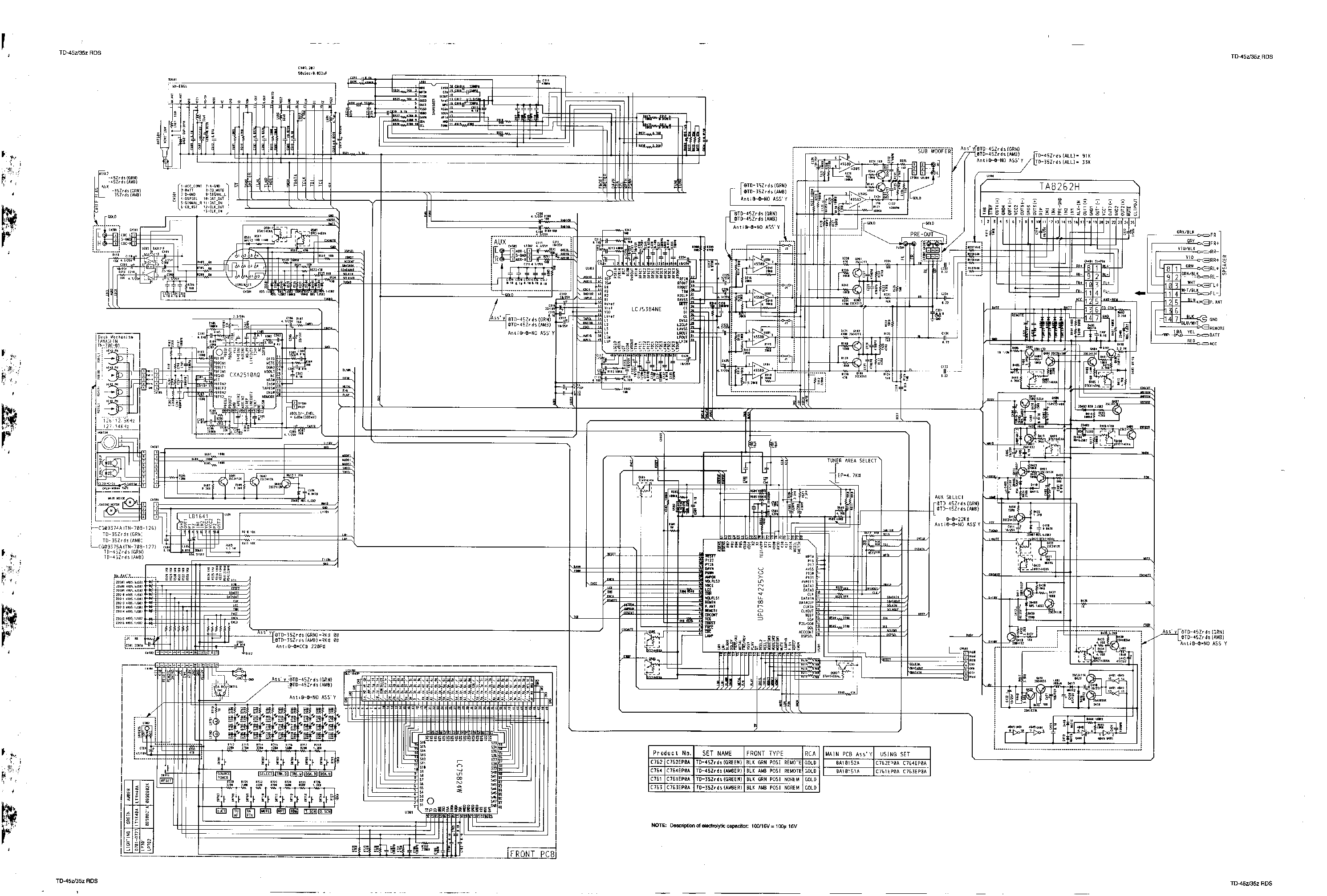Nakamichi cd wiring diagram and schematics