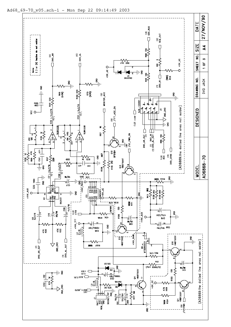 Necvox Car Dvd System Adapter Ad6868