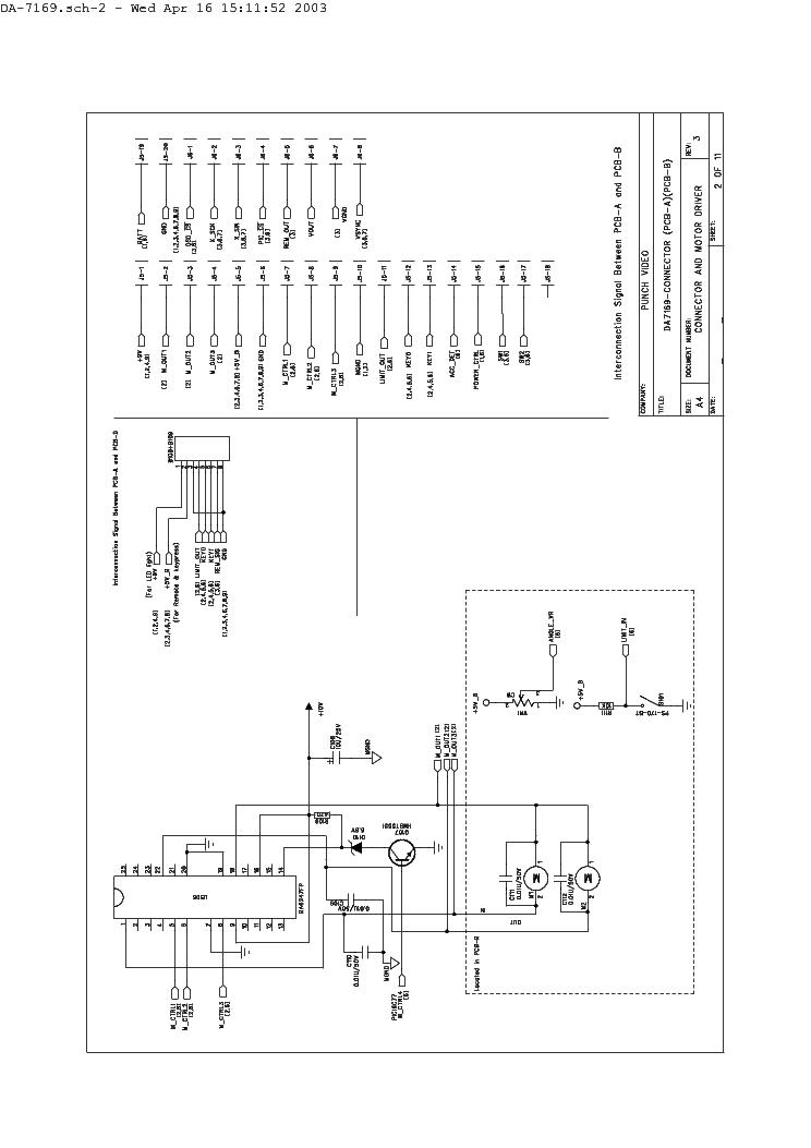 Necvox Da7169 7inch Car Monitor Sch