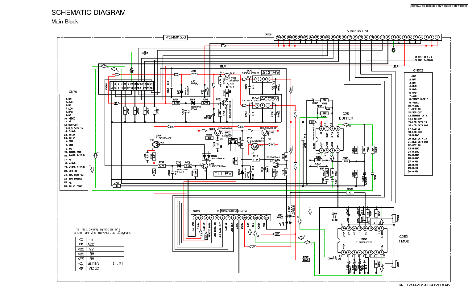 Panasonic Cq C7103u Wiring Diagram Electrical Diagrams Cqcp137u Manual Pdf And Schematics