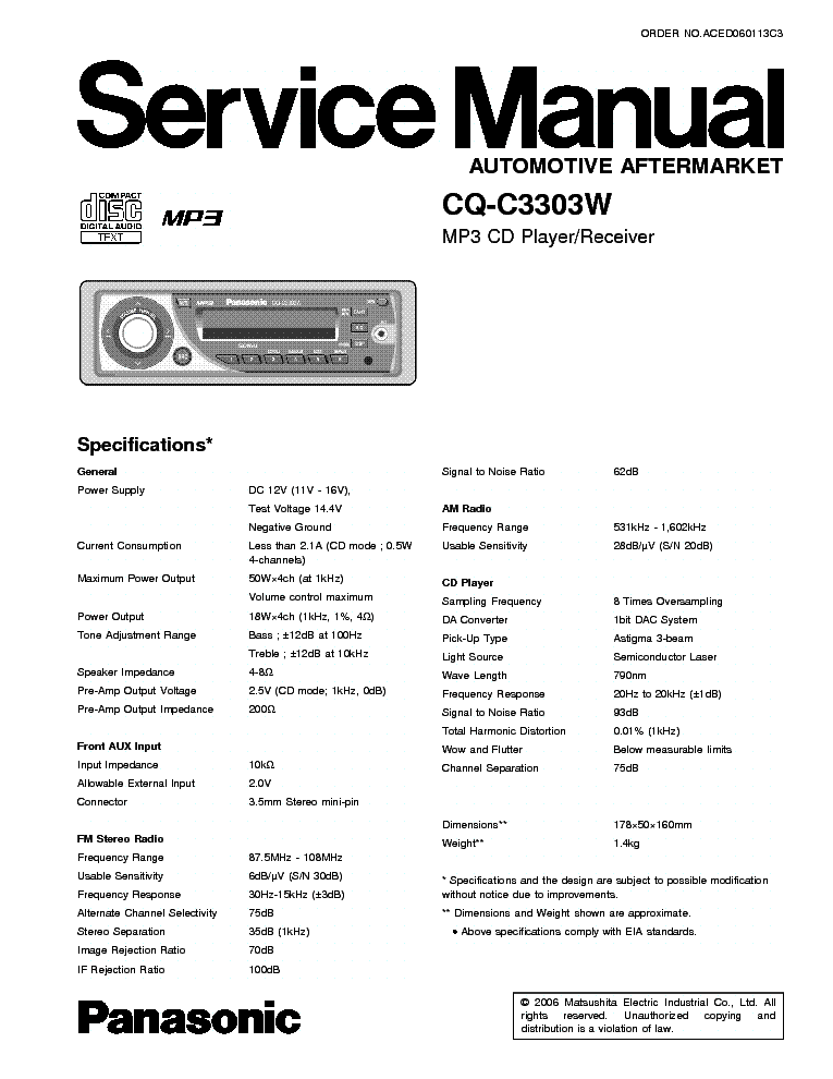 panasonic_cq c3303w.pdf_1 panasonic cq rdp200len rdp210 sm service manual download panasonic cq c3303u wiring diagram at nearapp.co