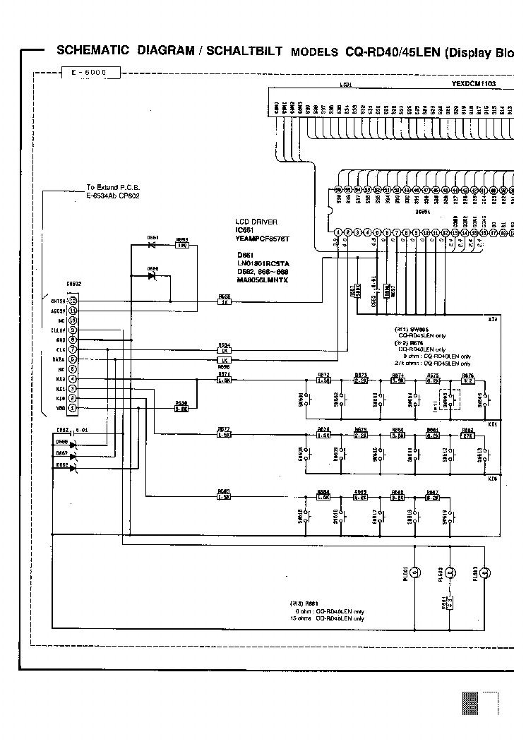 PANASONIC CQ-RD40 45X SCH