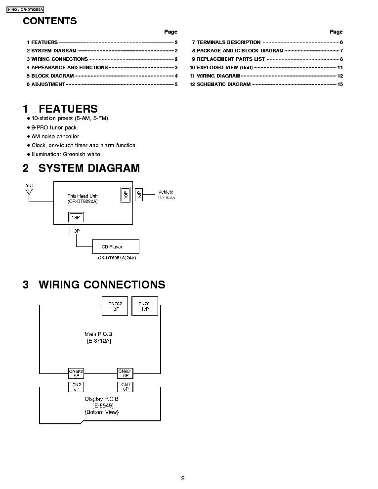 Wiring Diagram Hino 500 Pdf