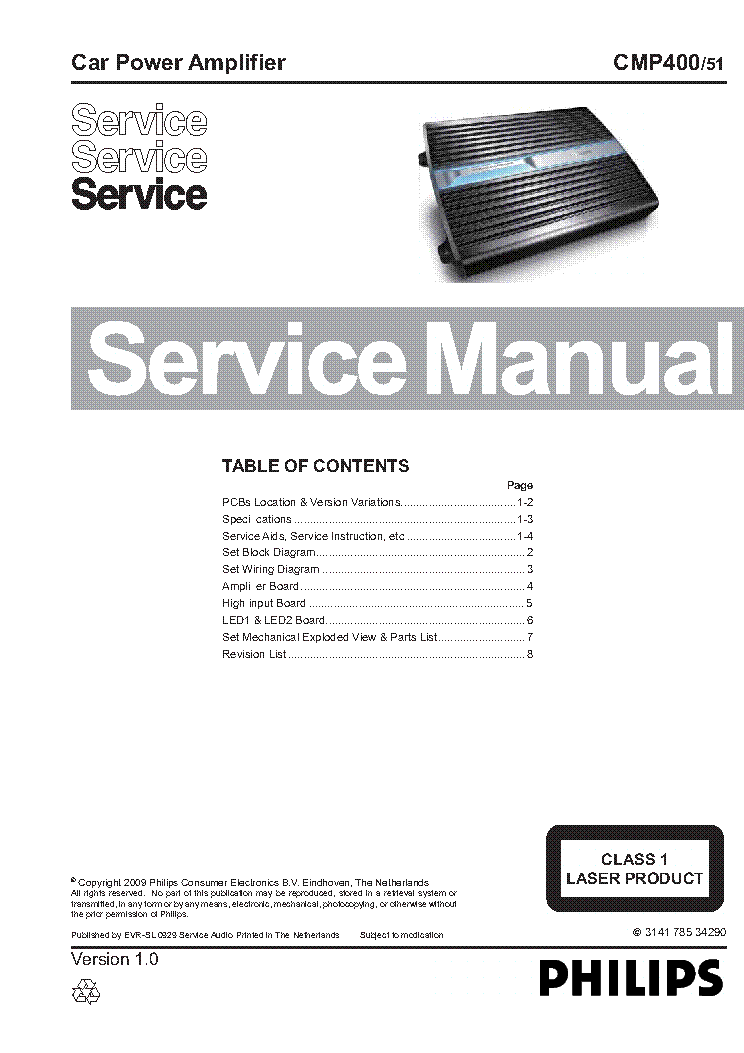 philips cmp400 51 service manual download schematics eeprom rh elektrotanya com Ebherr L Maintenance Manual PDF Manuals in PDF