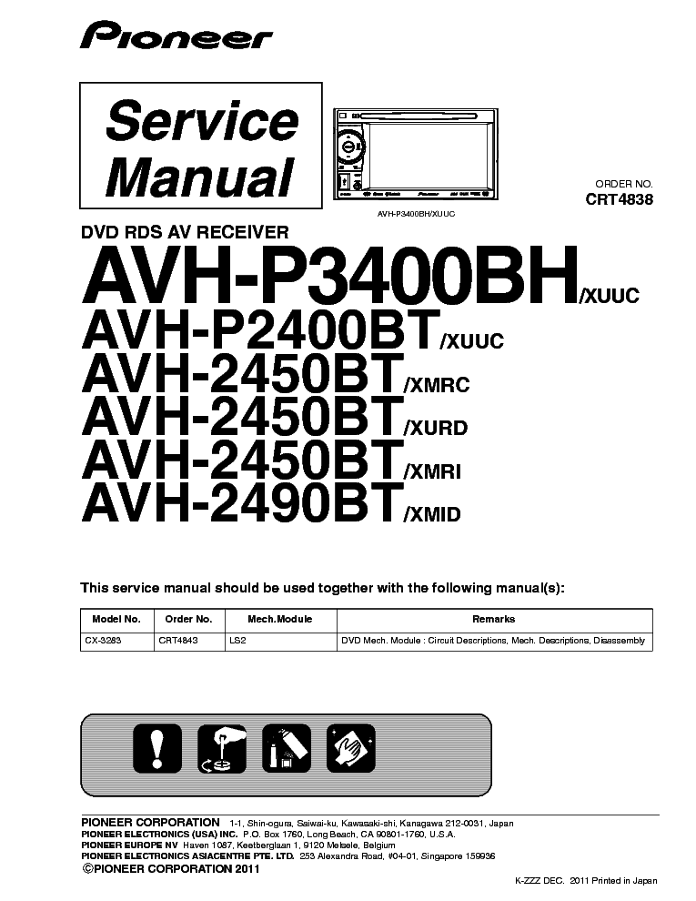 pioneer_avh p3400bh_p2400bt_2450bt_2490bt.pdf_1 pioneer avh p3400bh p2400bt 2450bt 2490bt service manual download pioneer avh p2400bt wiring diagram at fashall.co