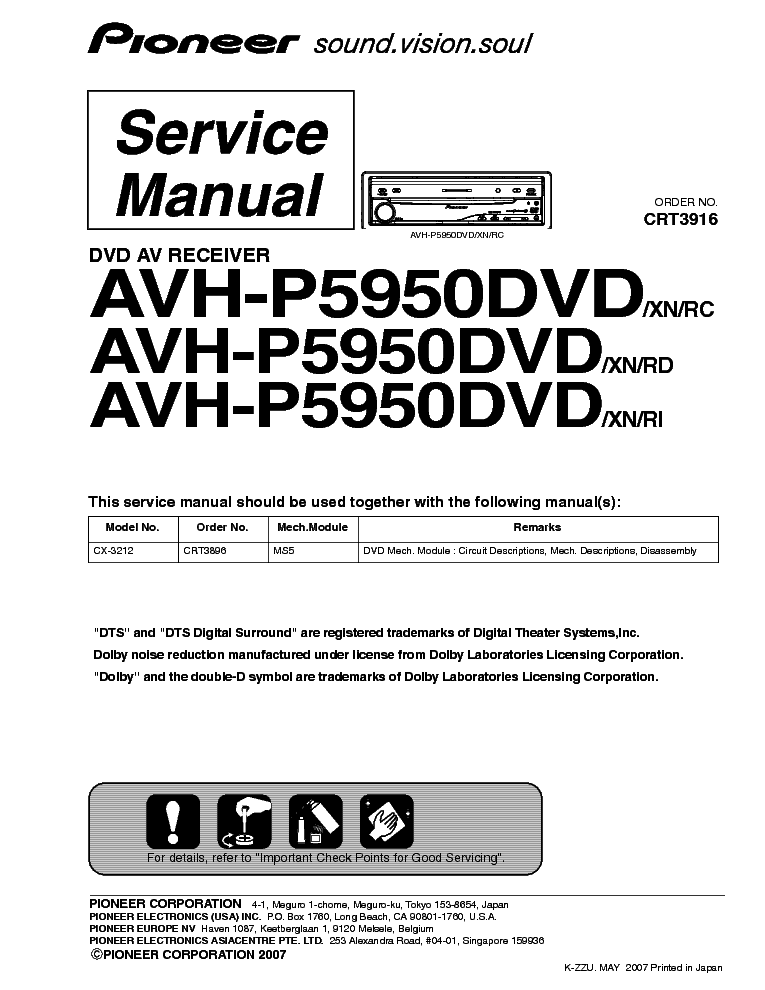 pioneer_avh p5950dvd.pdf_1 pioneer avh p5950dvd service manual download, schematics, eeprom pioneer avh p5000dvd wiring diagram at crackthecode.co