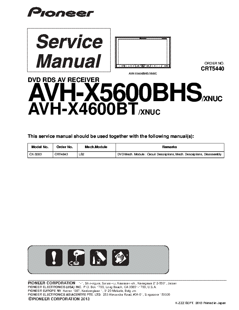 pioneer_avh x5600bhs_avh x4600bt_sm.pdf_1 pioneer dex p1r deh p946 dex p1 crt2206 service manual download pioneer avh x4500bt wiring diagram at gsmx.co