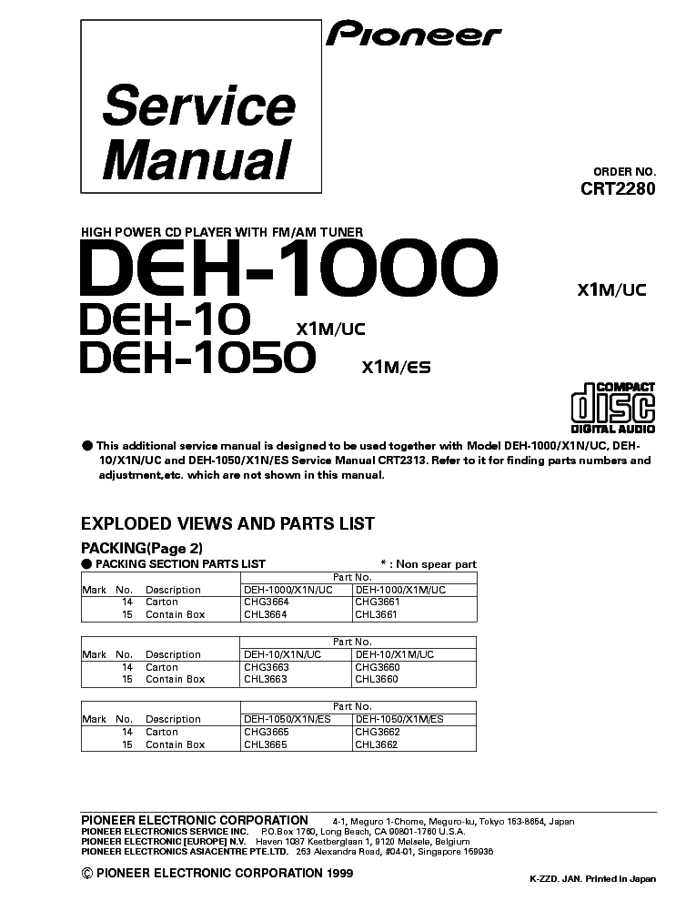 Wiring Diagram For Pioneer Avh P2300dvd : Pioneer deh p wiring harness diagram avh