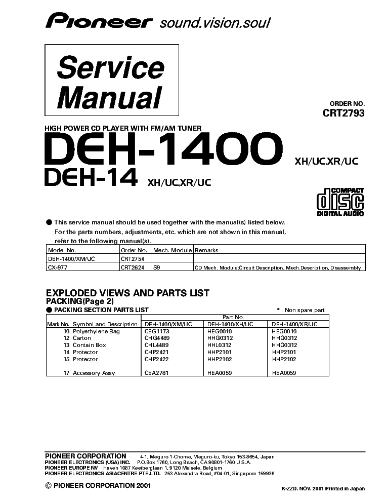 pioneer_deh 1400_deh 14_crt2793_supplement.pdf_1 pioneer deh 1400 wiring diagram & pioneer deh 1300 wiring diagram pioneer deh 23ub wiring diagram at nearapp.co