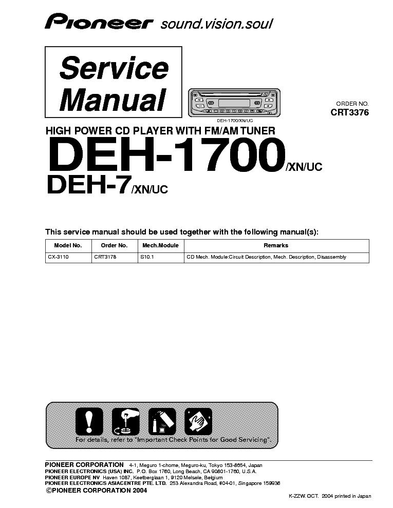 Pioneer Dvh-735av Инструкция - фото 11