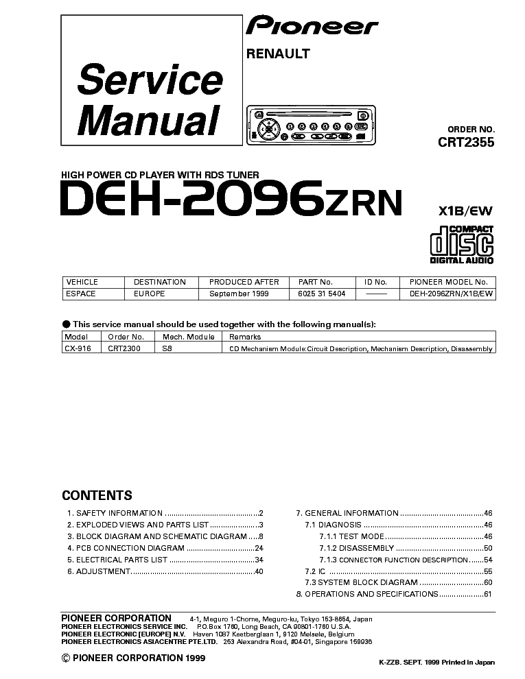pioneer_deh 2096.pdf_1 pioneer deh 2050mpg wiring diagram diagram wiring diagrams for pioneer deh 2000mp wiring diagram at bayanpartner.co