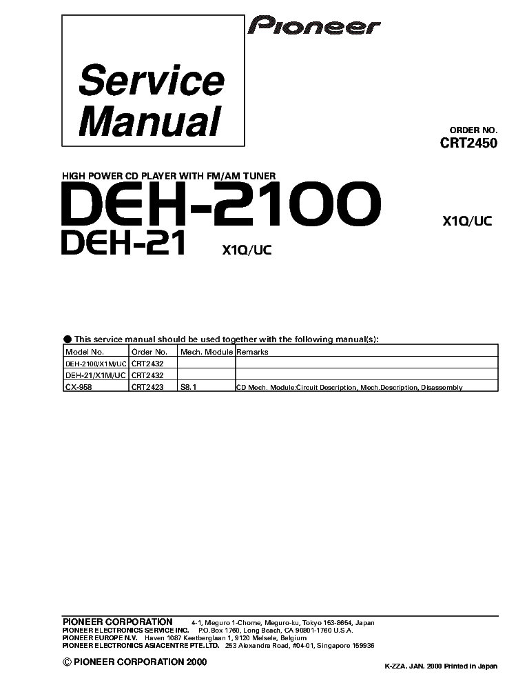 pioneer_deh 2100_deh 21_crt2450_supplement.pdf_1 pioneer deh 2350ub xnes deh 2350ubg ubsw sm service manual pioneer deh p6800mp wiring diagram at edmiracle.co