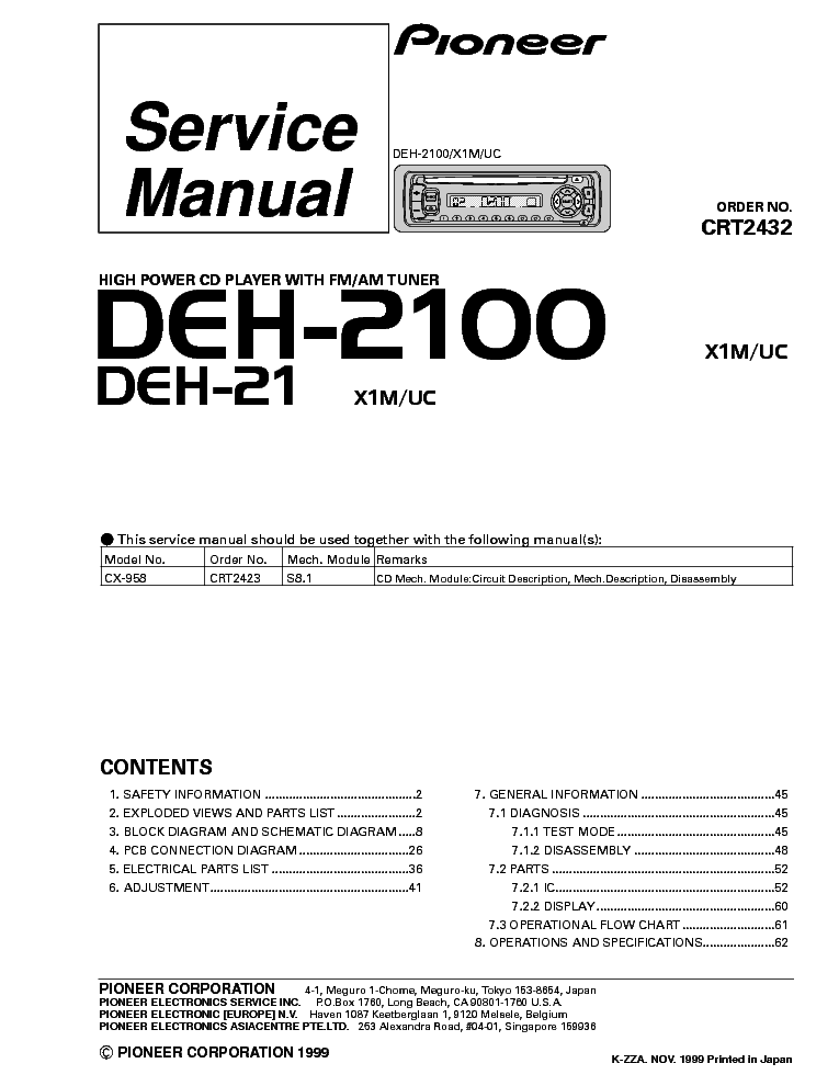 Wiring Diagram For A Pioneer Deh X3500ui : Pioneer deh ui wire colors efcaviation
