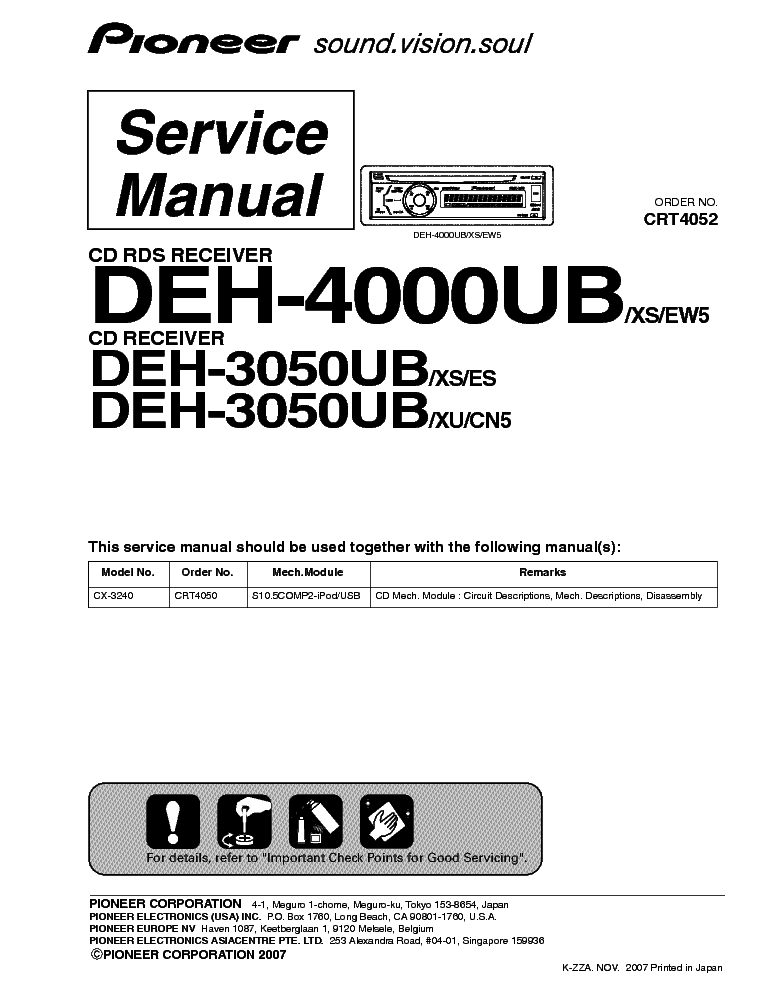 pioneer_deh 3050ub_4000ub_crt4052_sm.pdf_1 pioneer deh 3050ub 4000ub crt4052 sm service manual download Pioneer Deh 16 Wiring-Diagram at gsmx.co