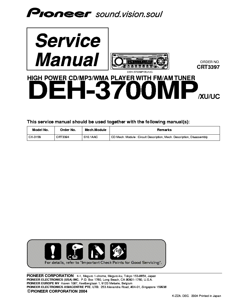 pioneer_deh 3700mp_crt3397_sm.pdf_1 pioneer deh 235 x1h uc sm service manual download, schematics pioneer deh p3700mp wiring diagram at soozxer.org