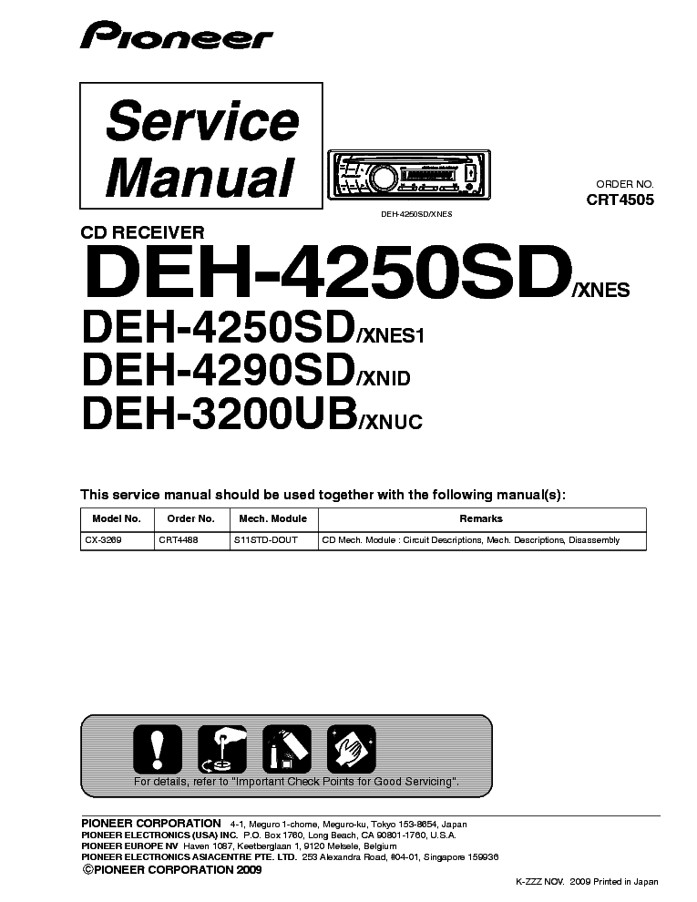 pioneer_deh 4250sd_4290sd_3200ub_sm.pdf_1 pioneer gm d8400m service manual download, schematics, eeprom GM Wiring Diagrams For Dummies at webbmarketing.co