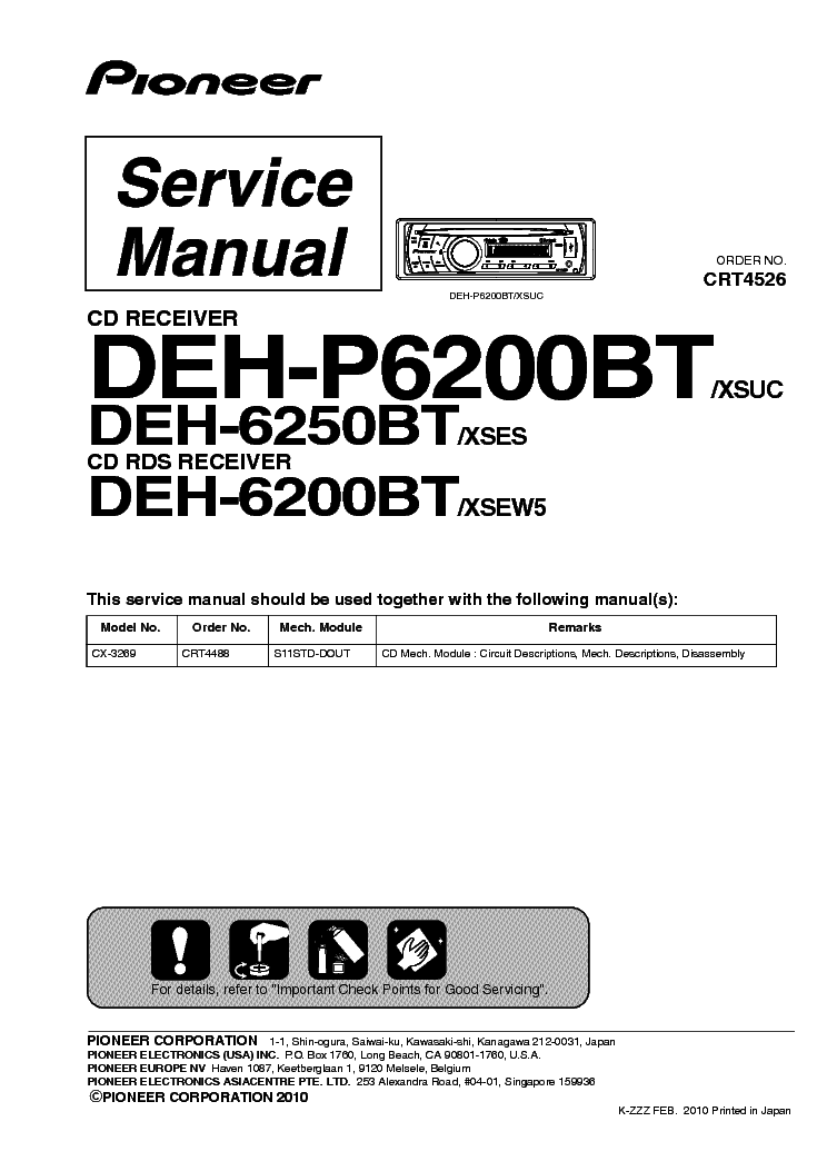 pioneer_deh 6200bt_p6200bt_6250bt_sm.pdf_1 pioneer deh 1700 deh 7 crt3381 supplement service manual download pioneer deh p6200bt wiring diagram at eliteediting.co