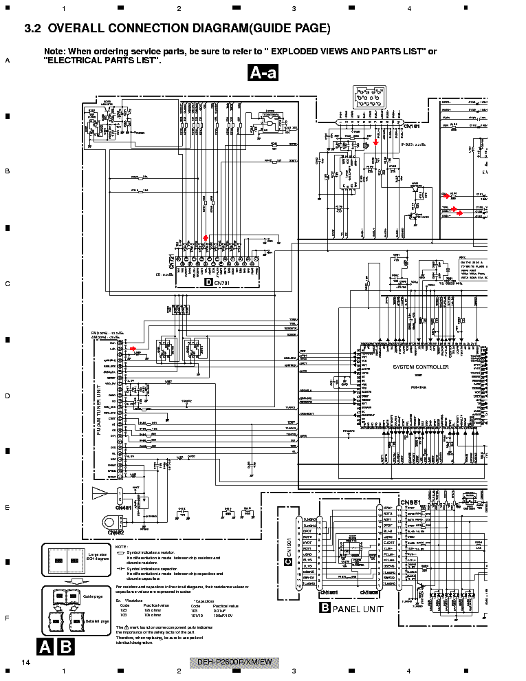 pioneer_deh p260.pdf_1 pioneer deh p260 service manual download, schematics, eeprom pioneer deh 1300mp wiring diagram at creativeand.co