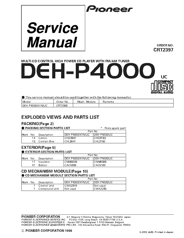 pioneer_deh p4000_crt2397_supplement.pdf_1 wiring diagram for pioneer deh x6700bt readingrat net pioneer deh-x6700bt wiring harness at bakdesigns.co