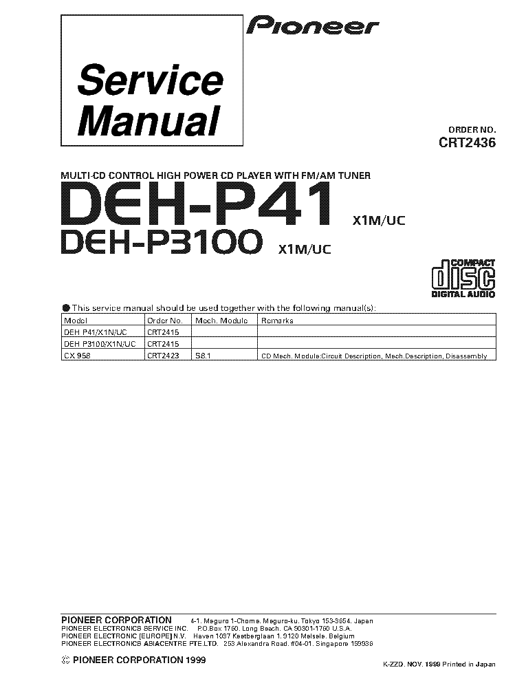 pioneer_deh p41_deh p3100_crt2436_supplement.pdf_1 pioneer deh p390mp wiring diagram diagram wiring diagrams for pioneer deh p3900mp wiring diagram at bakdesigns.co