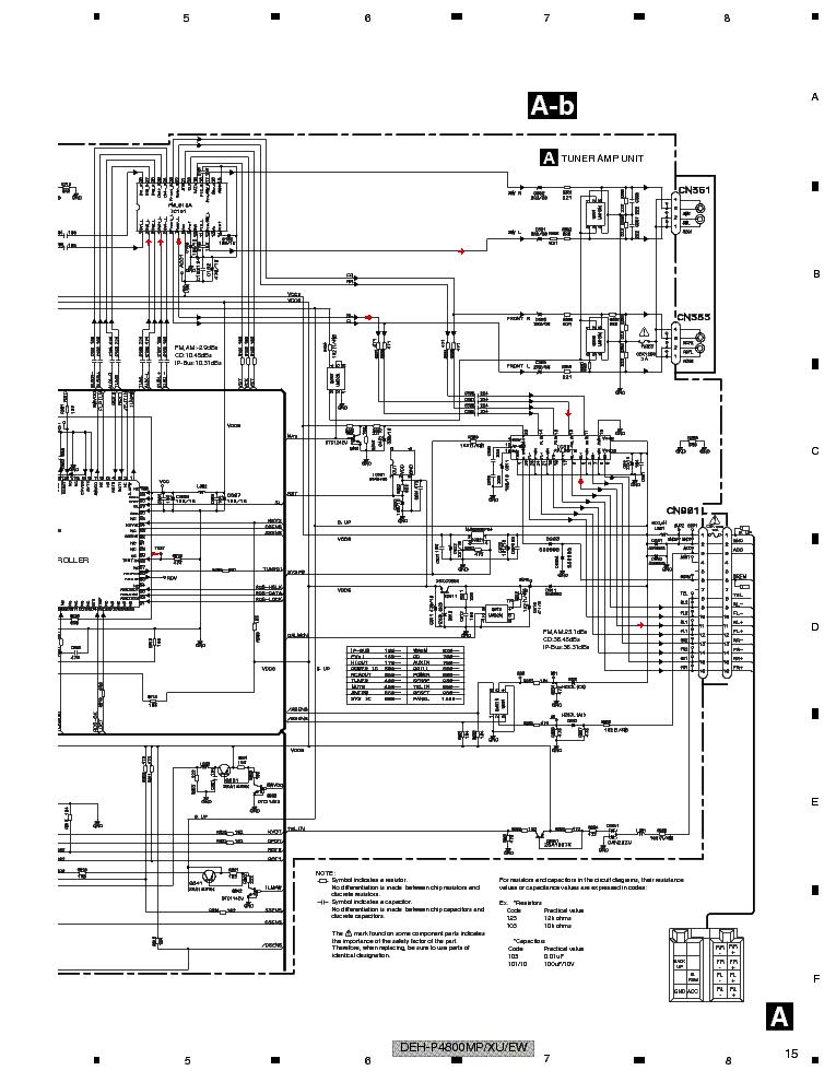 Deh P4800mp Wiring Diagram