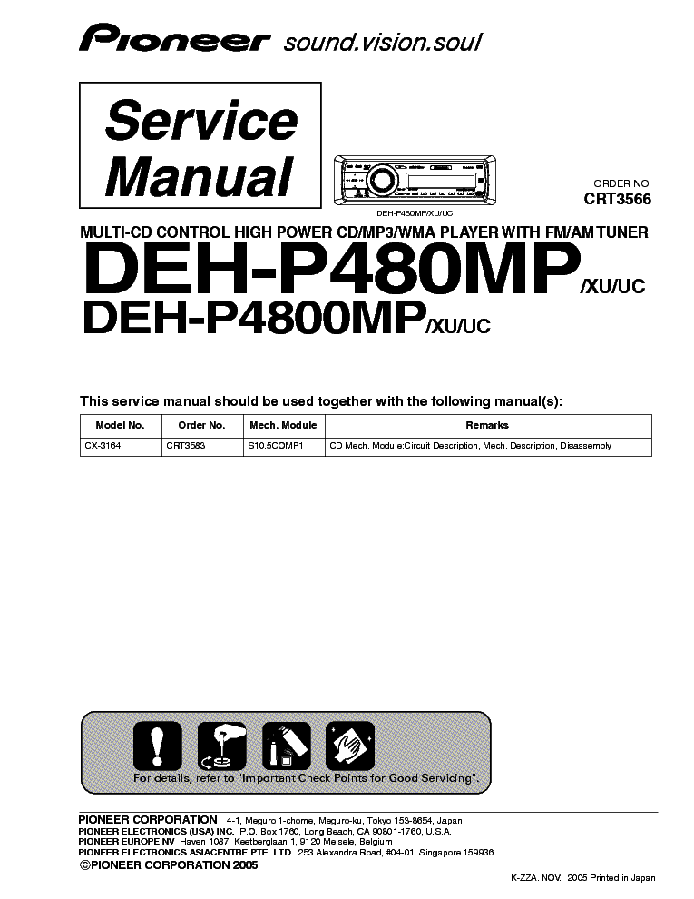 pioneer_deh p480mp_p4800mp_crt3566_sm.pdf_1 pioneer deh p480mp p4800mp crt3566 sm service manual download pioneer deh p4800mp wiring diagram at crackthecode.co
