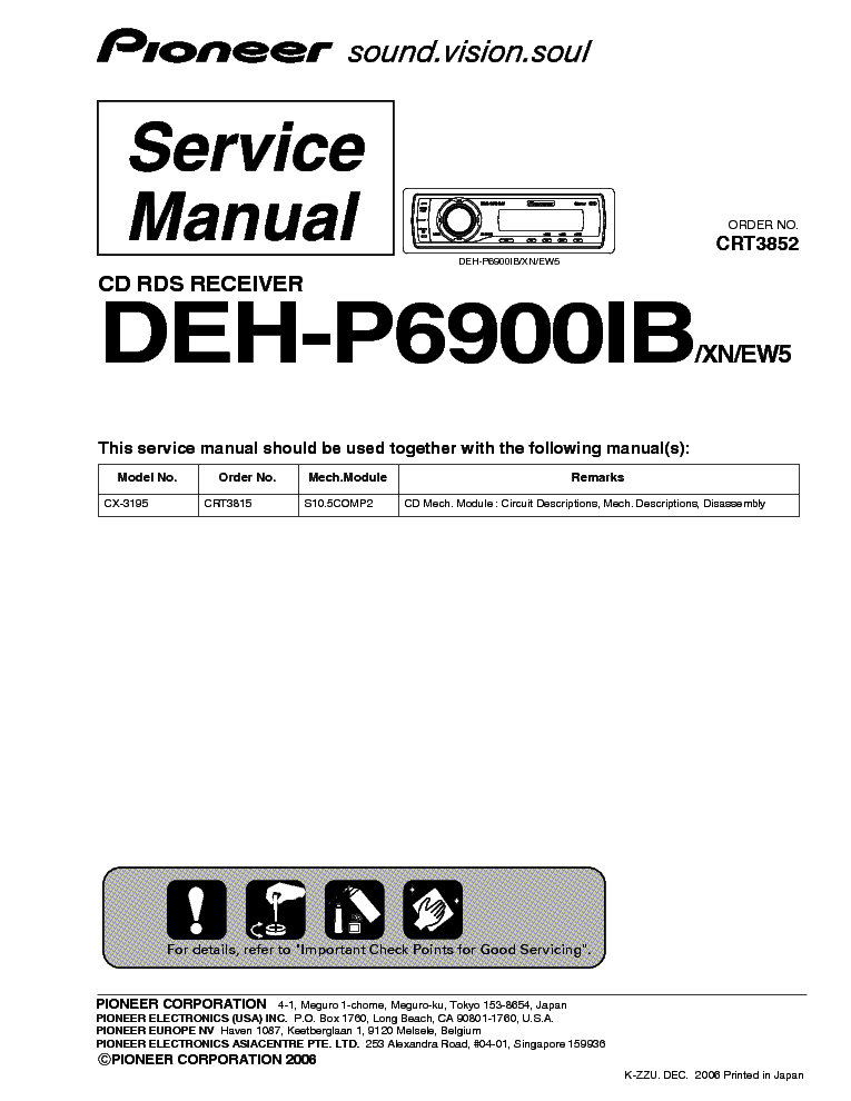 pioneer_deh p6900ib_crt3852_sm.pdf_1 pioneer gm x424 gm x324 service manual download, schematics pioneer deh p6800mp wiring diagram at fashall.co