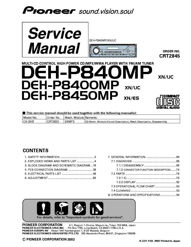 Cool Pioneer Deh P6500 Wiring-diagram Images - Best Image Engine ...