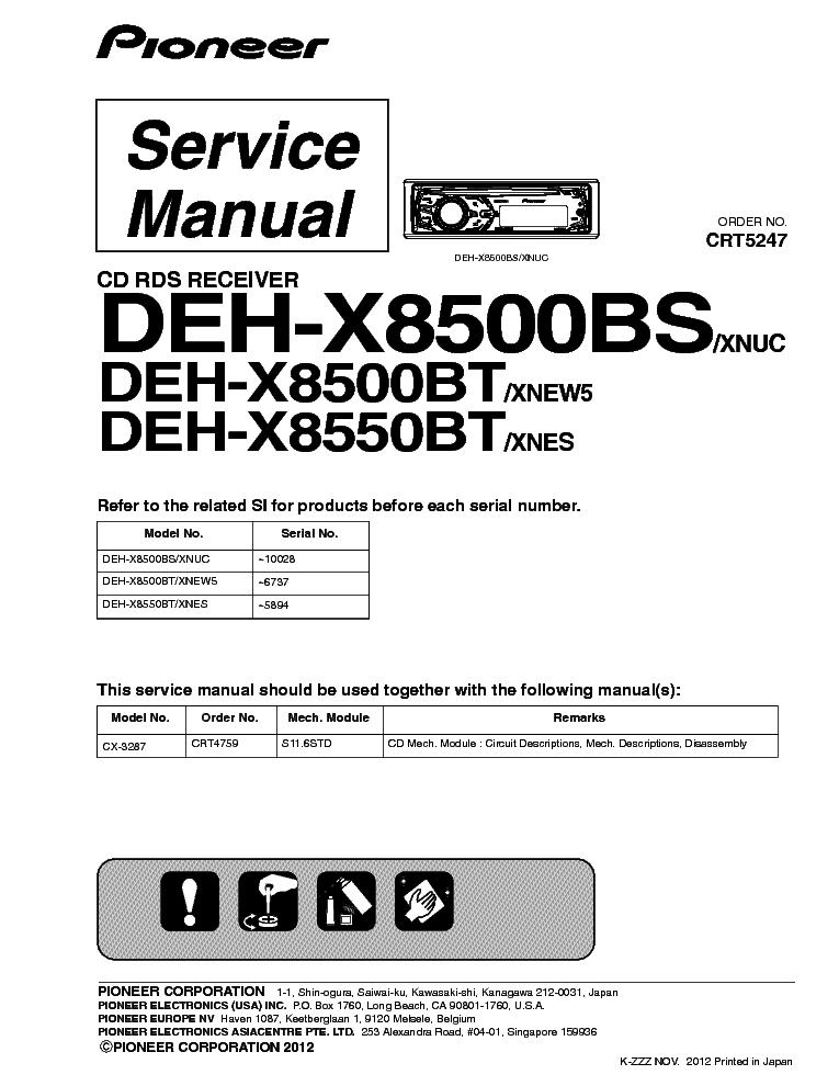 Pioneer keh 4011 инструкция