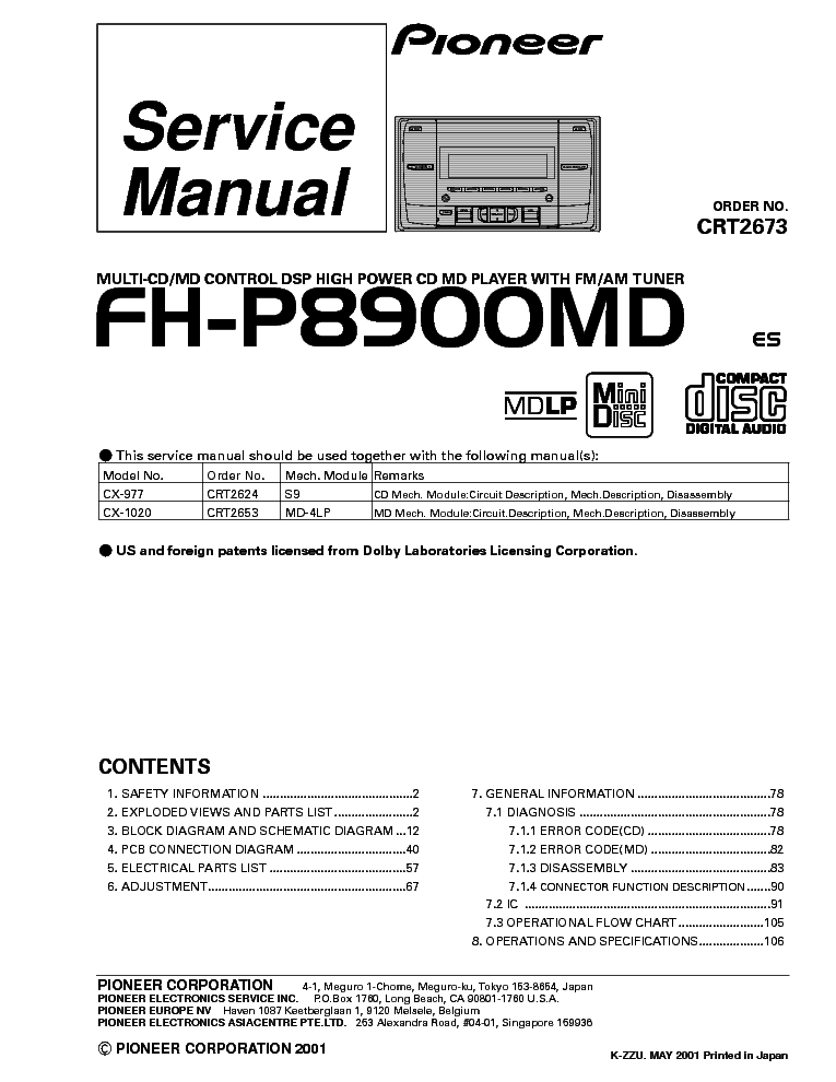 pioneer diagram wiring deh x4600bt pioneer deh x6600bt review elsavadorla
