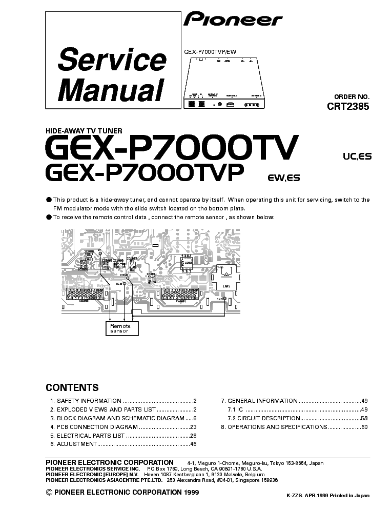 pioneer_gex p5700tvp crt2385 .pdf_1 pioneer gm 4000f wiring diagram gm dash wiring diagrams \u2022 indy500 co pioneer gm 4000f wiring diagram at gsmportal.co