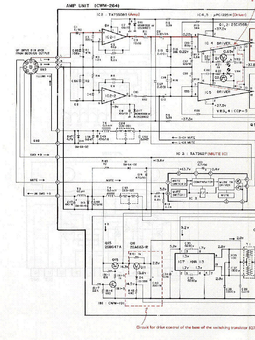 Pioneer Radio Deh X8500bh Wiring Harness Diagrams 150mp Diagram Color Code Amp Bypass Elsavadorla 16