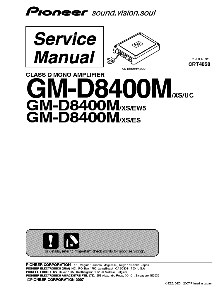 pioneer_gm d8400m.pdf_1 pioneer gm d8400m service manual download, schematics, eeprom GM Wiring Diagrams For Dummies at webbmarketing.co